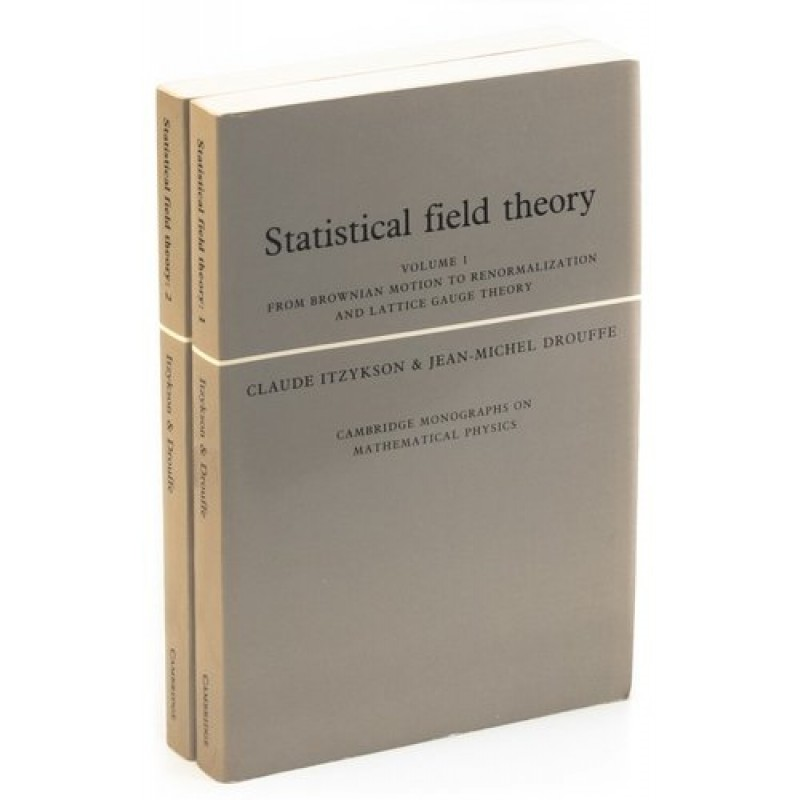 Statistical Field Theory: Volume 1, Volume 2 (комплект из 2 книг)